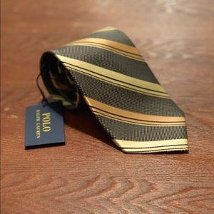 NWT Polo Ralph Lauren Striped Tie